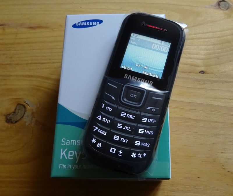 GSM Langzeit Sauhandy - Wilduhr E1200i Second Edition